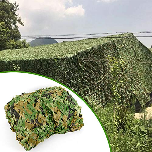 Camouflage Netting, Pro Series Military Camouflage Netting,26 x 26FT 8x8M Woodland Camouflage Netting Desert Camo Net for Camping Military Hunting Shooting Blind Watching Hide Party Decorations