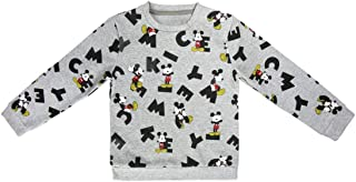 Mickey Mouse S0712674 Sweater, Gris, 7-8 a os (122-128 cm) Unisex-Child