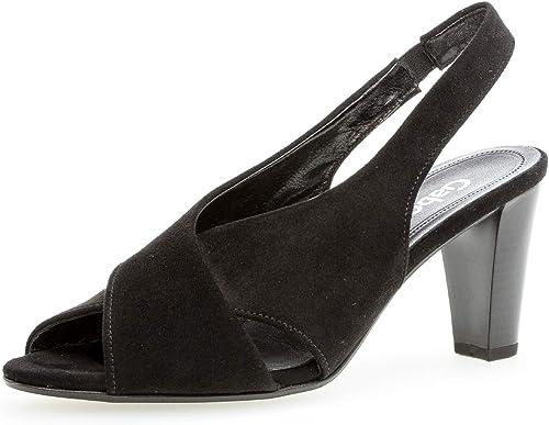 Gabor 21.831 Femme,Sandales, Chaussures d'été, Chaussures à Talon Ouvert, Talon Haut, Talon Haut, féminin,
