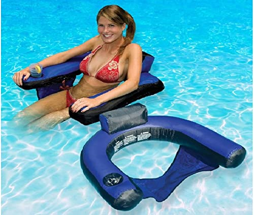 mas barato Swimming Pool U-Seat Chair Chair Chair Float Inflatable Nylon Fabric Coverojo, Portable by MegaDeal  Obtén lo ultimo