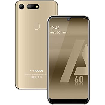 Moviles Libres Baratos 4g, A60(2020) 3GB RAM +32GB ROM Android 8.1 ...