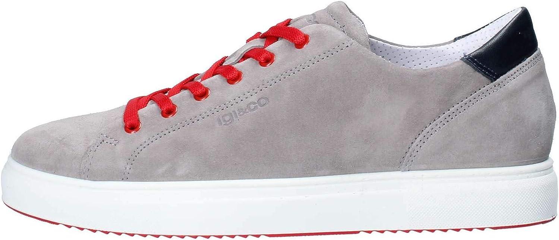 IGI&CO shoes Men Low Sneakers 3132722 grey Size 41 Grey