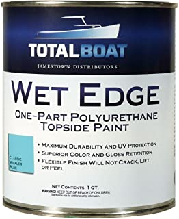 TotalBoat Wet Edge Topside Paint (Classic Whaler Blue, Quart)