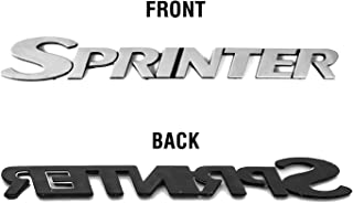 IMS auto parts Mercedes Sprinter Self Adhesive Rear Back Sprinter Badge Exterior Signs Decals