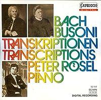 Bach Piano Transcriptions