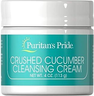 Puritan's Pride Crushed Cucumber Cleansing Cream-4 oz Cream