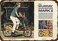 装飾ポスター看板、1969マレーエリミネーターマークII自転車-ビンテージ金属スズポスターガレージオフィスクラブバー壁アールデコカフェショップホーム金属塗装居酒屋装飾