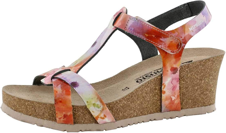 Mephisto Women's Liviane Cork Footbed Wedge Sandal