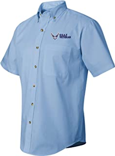 MilitaryBest U.S.A.F. Veteran Short Sleeve Dress Shirt