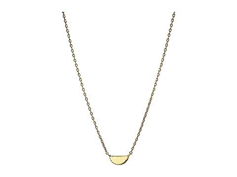 Kate Spade New York Slender Scallops Mini Pendant Necklace