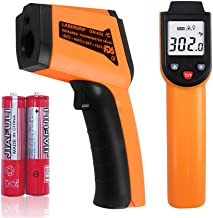 Infrared Laser Thermometer Gun, -58℉- 752℉(-50℃ - 400℃)Non-Contact Digital Laser Infrared Thermometer Temperature Gun with LCD Display for Kitchen,Industrial,Household or Laboratory