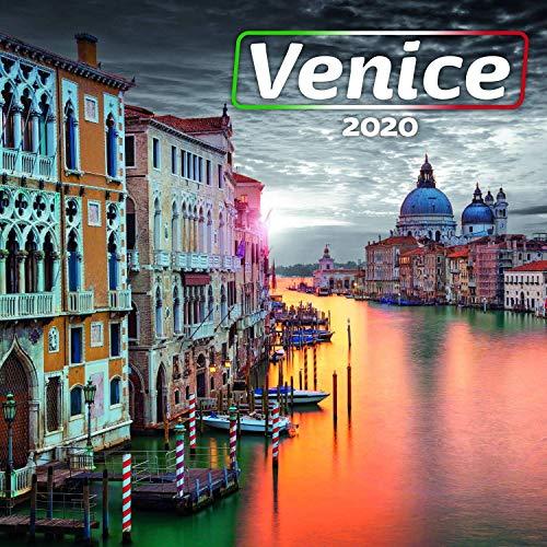 Italy Calendar - Calendars 2019 - 2020 Wall Calendar - Venice Wall Calendar by Presco Group