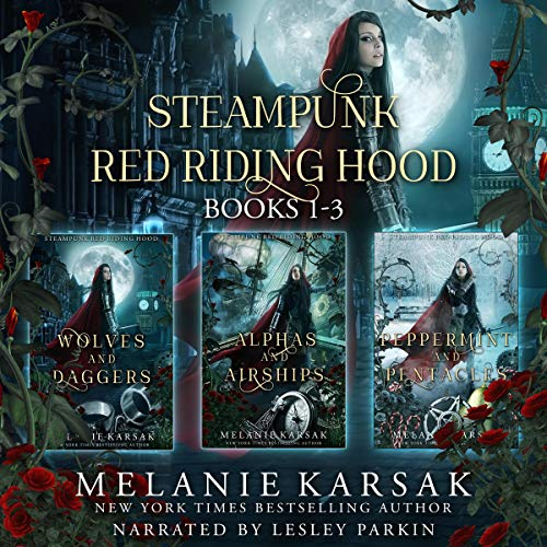 Steampunk Red Riding Hood  By  cover art