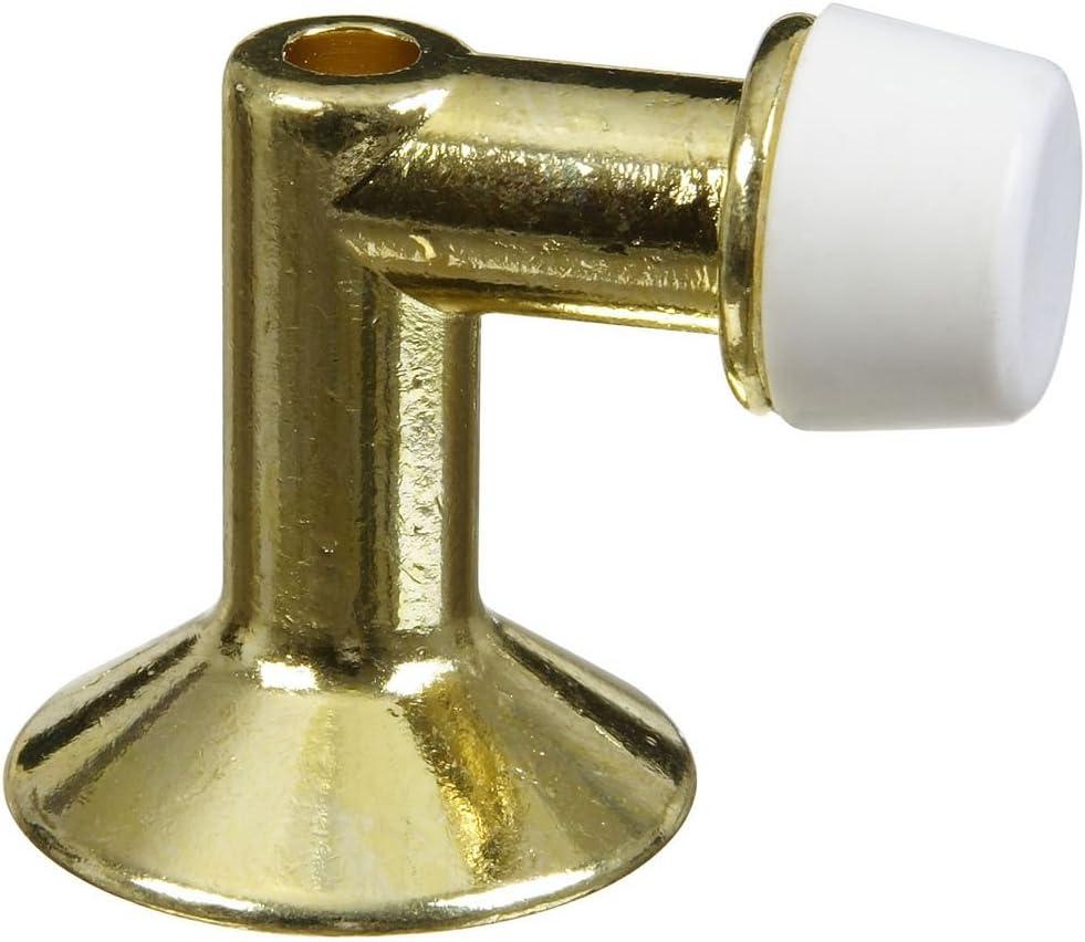 National Hardware Regular store N154-500 V233 Large discharge sale Floor Door in Stop Brass