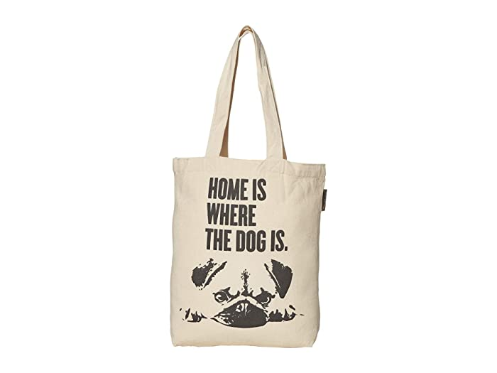 Home Is Where The Dog Is Tote (Tan) Dog Accessories