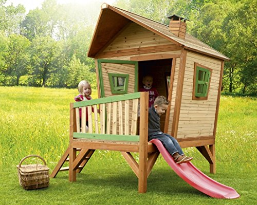 Spielhaus Kinderspielhaus Gartenhaus Spielhütte für Kinder - (3375)