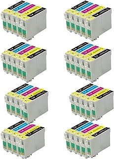 Cartucho de reemplazo de tinta compatible 40 ECS T1285 para Epson Stylus Impresoras S22 SX125 SX130 SX420W SX425W SX445W BX305F BX305FW SX230 SX235W SX445W SX435W SX430W SX438W SX440W.