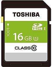 東芝 SDHCカード 16GB Class10 UHS-I対応 (最大転送速度48MB/s) 日本製 国内正規品 Amazon.co.jpモデル THN-NW16G4R8