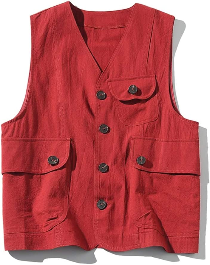 OFFer LGQ-HW Retro Tooling New product!! Vest Men's Gilet Sports Thin and Women's