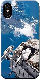 OPPO Find X2 Pro OPG01 ケース ロケット 地球 宇宙 シャトル 衛星 薄型 スマホ ハードケース 宇宙 E オッポ C000203_05