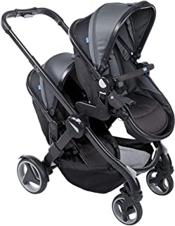 Chicco Fully Twin Baby Stroller - Black