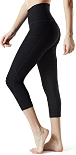 TSLA Yoga Pants Mid & High-Waist Tummy Control w Hidden Pocket FYC32/FYC33/FYC34/FYC36/FYP32