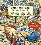 Suche und finde! - Auf der Baustelle: Mit 66 spielerischen Suchaufgaben - Wimmelbuch ab 2 Jahre