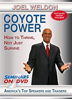 Coyote Power - How to Thrive, Not Just Survive - Seminars On Demand Team Building and Adaptability Motivational Training Video - Speaker Joel Weldon - Includes Streaming Video Streaming Audio + MP3 Audio - Compatible with All Devices