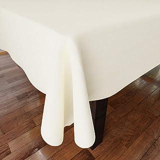 Encasa Homes płaszcz Oxford de algodón de Color LISO de para UNA mesa de comedor Grande de 6 a 8 plazas - 142 x 230 cm, na...