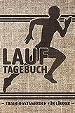LAUFTAGEBUCH - Trainingstagebuch für Läufer: Zum Dokumentieren & Ausfüllen | Lauf-Ziele für 60 Wochen | 150 detaillierte Einzelläufe und Gewichtsverlauf eintragen | ca. A5, 200 Seiten