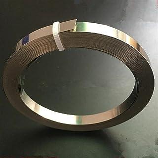 Wnuanjun 1 stuk Nichrome platte verwarmingsdraad voor verwarmingselement 5m lengte 0,15/2/0,25 mm dikte (grootte: 0,15x12)