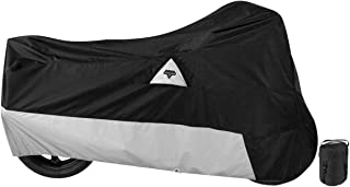Nelson-Rigg DE-400-03-LG Black Large Defender All Weather Motorcycle Cover