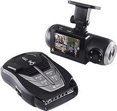 $309 » Cobra SC 201 Smart Dash Cam and RAD 480i Laser Radar Detector– Full HD 1080P Video Recording, Dual-View with Built-In Cabi...