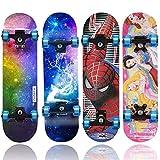 Standard Skateboard Girl Longboard Skateboard 4-6 Years Old Children's...