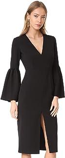 Jill Jill Stuart Women's V Neck Dress with Bell Sleeves