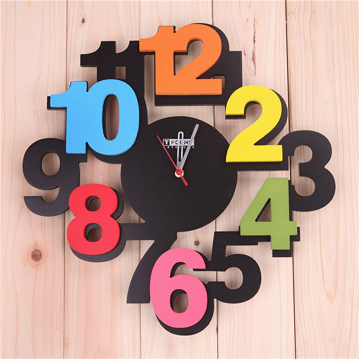 Znzbzt The Modern Digital Creative and Stylish Wall Clock