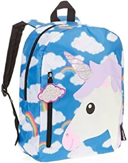 Emojination Unicorn In The Clouds School Backpack