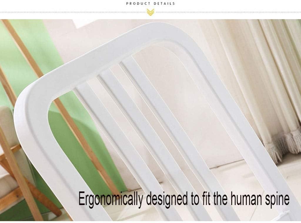 YUMUO Chaises de Salle à Manger Cuisine Petit déjeuner Chaises de dîner avec siège et Jambes en PP pour Le Bureau à Domicile Cuisine Salon Salle à Manger (Couleur: Vert) 1