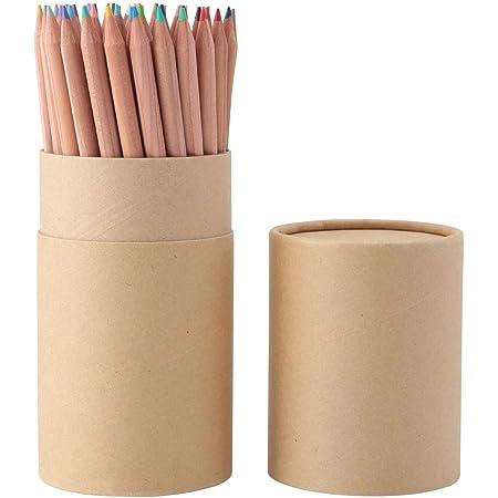 無印良品 色鉛筆 60色・紙管ケース入り 15355488