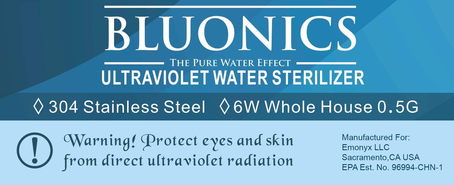 Luz ultravioleta UV Esterilizador de Osmosis Inversa purificador ...