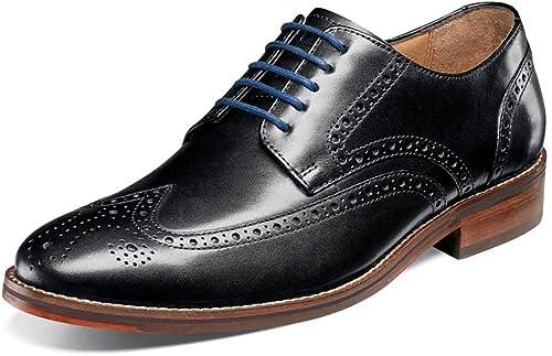 Florsheim Hommes's Salerno Wingtip Oxford noir Smooth Smooth Smooth 10 D US D (M) a3e