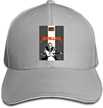 KYLE RICE James Hetfield Outdoor Sports Cotton Snapback Cap Adjustable Black