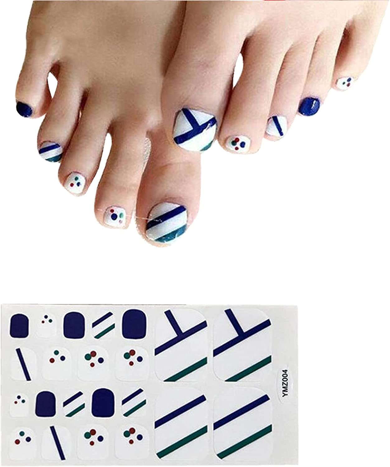 Foot Nail Stickers Denver Mall for Toe Ranking TOP13 Women Waterproof Na