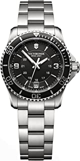 Victorinox Swiss Army Womens Quartz Watch, Analog Display and Stainless Steel Strap - 241701