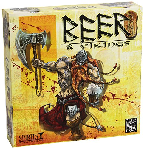 Albe Pavo–Bier und Wikinger Spiel Brettspiel