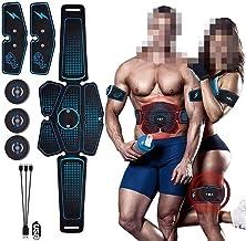 Khxypm 86 Ems buikspier Trainer Stimulator Abs elektrostimulatie Fitness Massager Buik Weight Loss Slimming fitnesstoestellen
