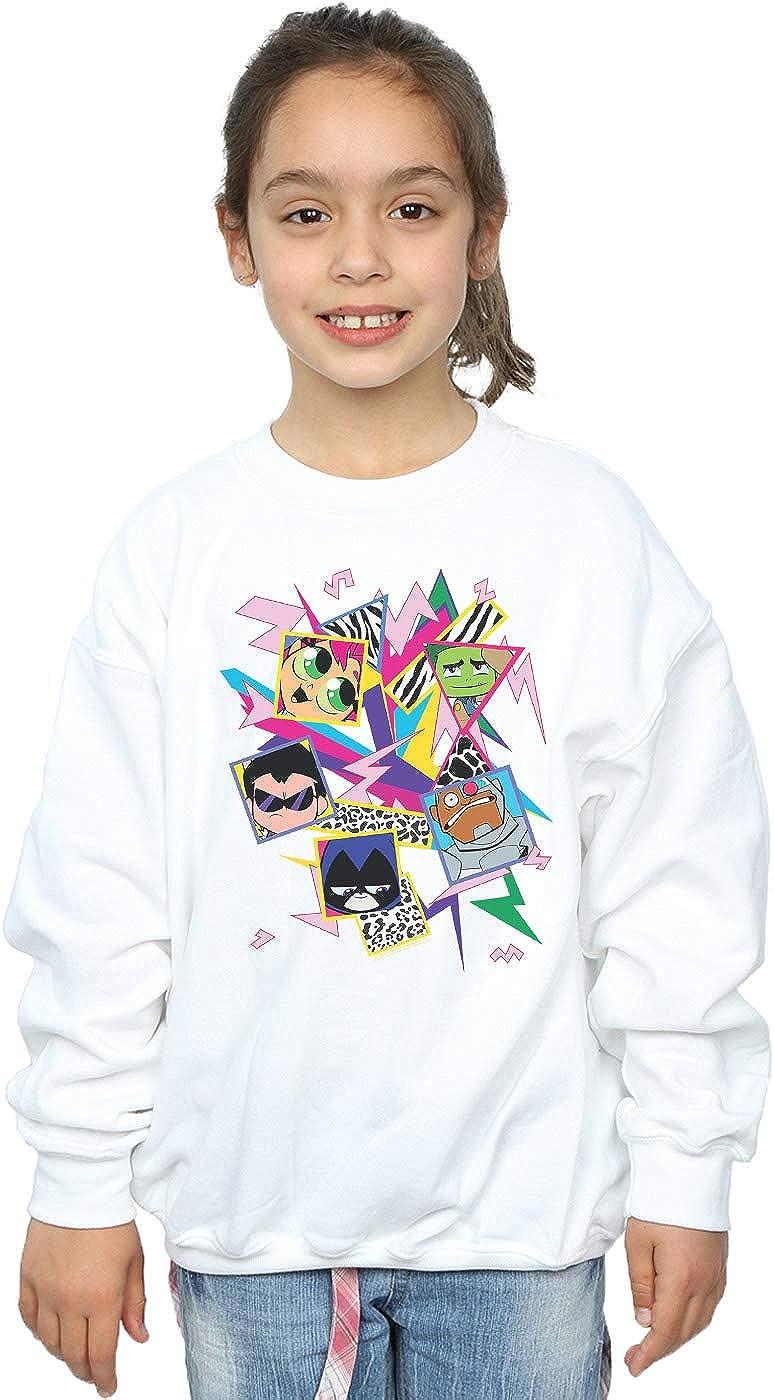 DC Comics Ni/ñas Teen Titans Go Lets Dance Camiseta