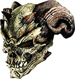 Rubie's Men's Cave Demon Latex Mask, as Shown, One Size