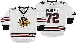 Reebok NHL Little Kids Chicago Blackhawks Artemi Panarin #72 Jersey, White, 4-7