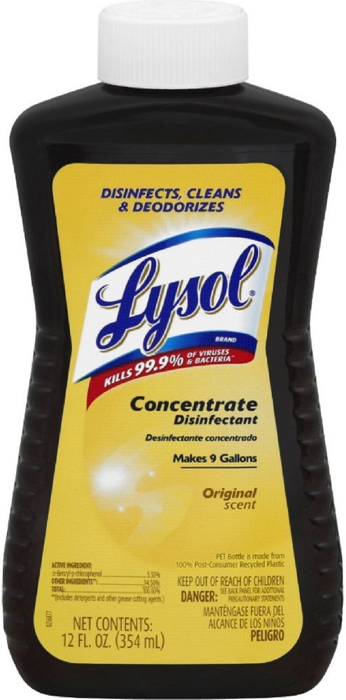 LYSOL Concentrate Long-awaited Disinfectant Original Scent of 12 Memphis Mall 5 oz Pack